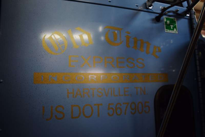 Detention détente: Old Time Express