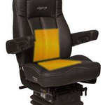 Seats Inc.'s Legacy Series is standard in back and seat cushions and is available with a 12-volt heater with dual temperature heat controls.