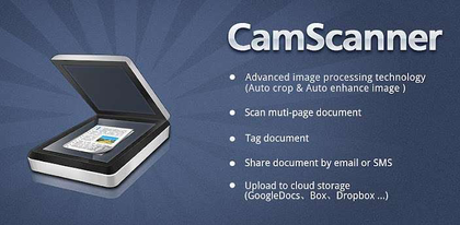 What's the best smartphone app out there for document capture/scanning?