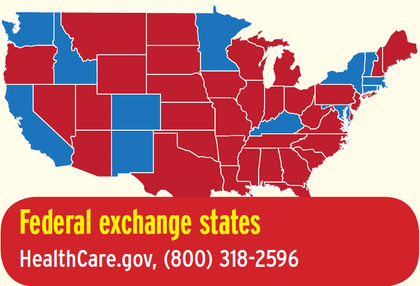 How to get covered through the health insurance exchanges