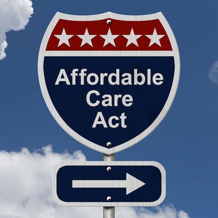 Obamacare road sign