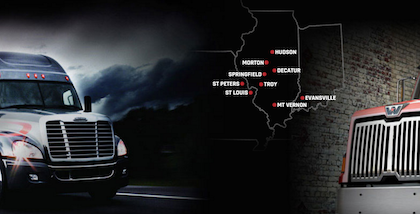 Midwest regional Truck Centers Inc.'s new website