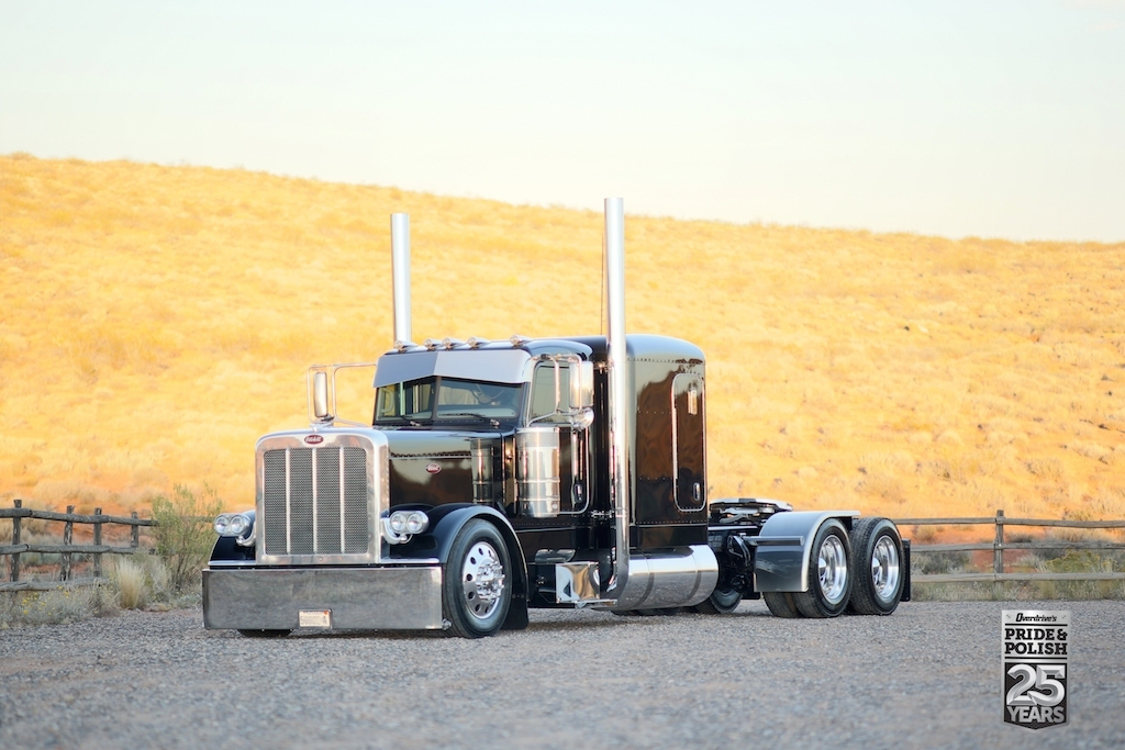 Cody Madsen's 2015 Peterbilt 389 won Best of Show, Working Bobtail at the PDI Pride & Polish event last October.