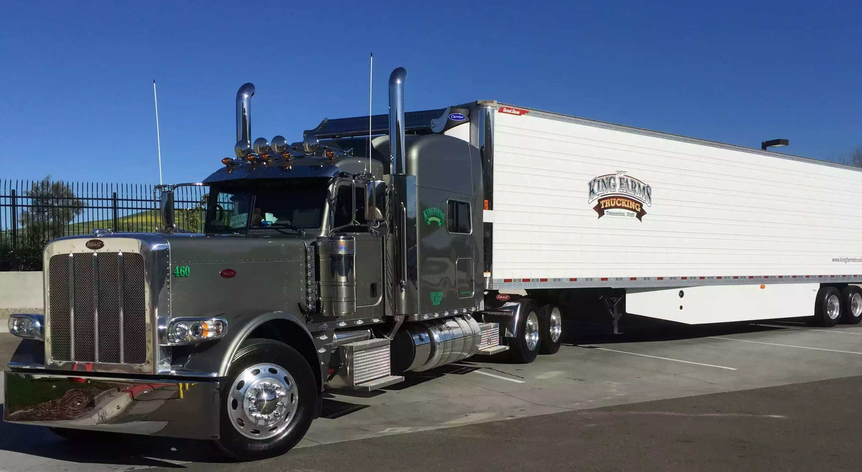 Frank Burgwin S 2015 Peterbilt 389 Overdrive Owner Operators Trucking Magazine