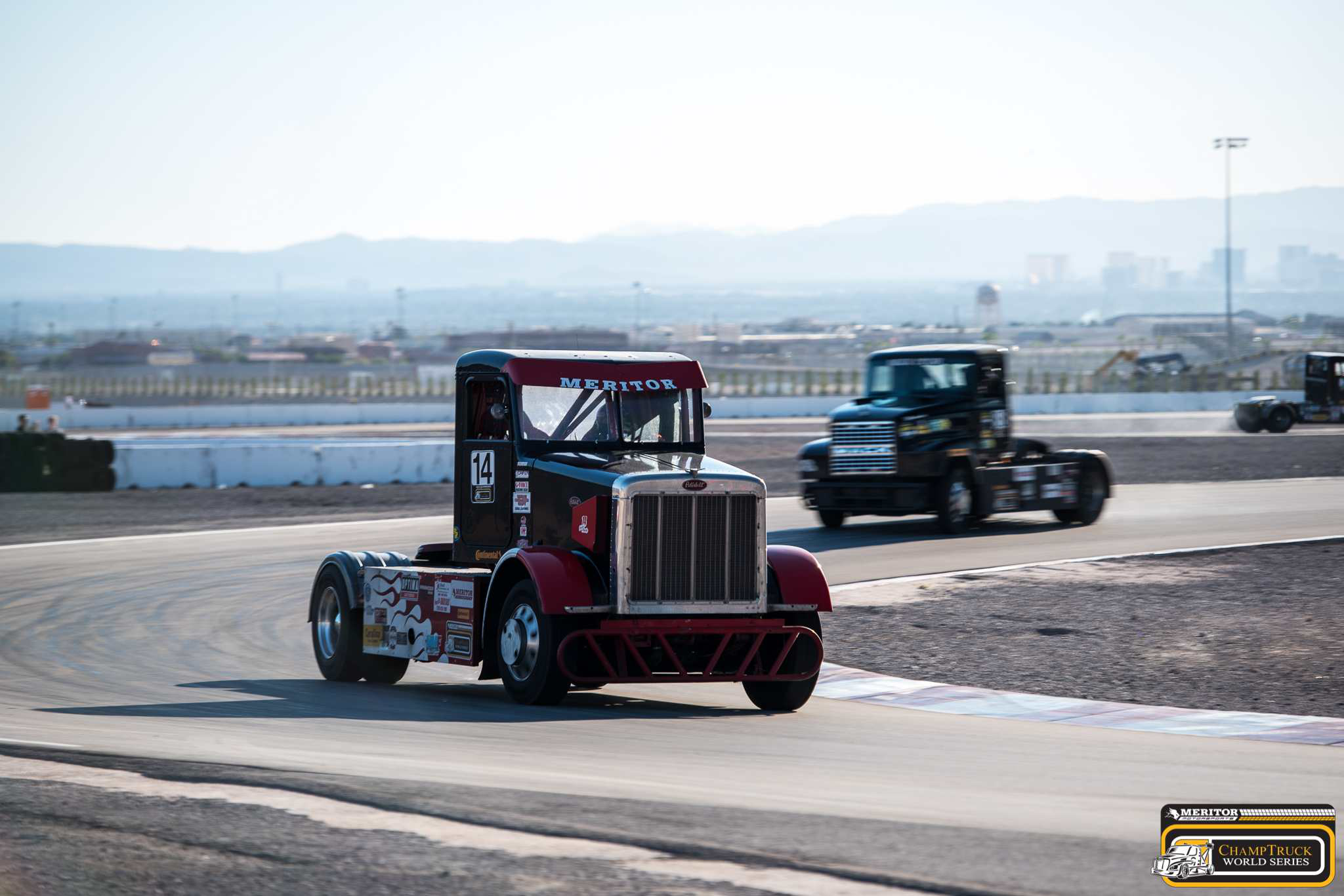 Ricky 'Rude' Proffitt claims another ChampTruck win, third of the season