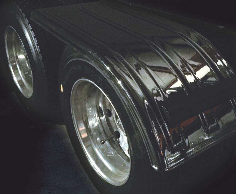 Minimizer's mirror-finished fenders