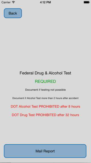 iPhone app offers post-accident drug-test decision assist
