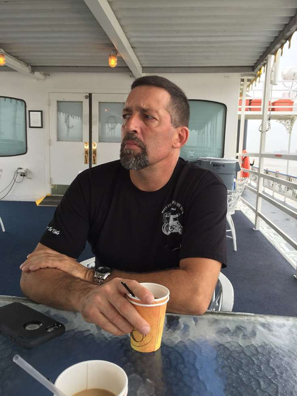 "Owner-operator Allan Lester sees the driver shortage discussion as the ""same old thing we've been talking about for the last 30 years"" – namely, how to pay drivers adequately. Lester drives this 2014 Peterbilt 579 and 48-foot Reitnouer all-aluminum trailer."