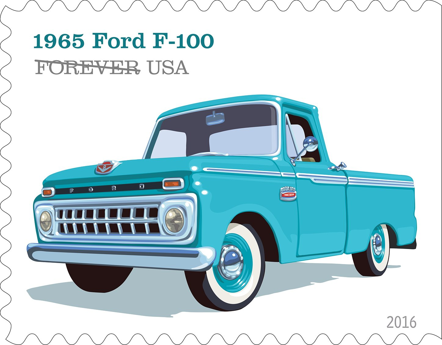 1947 International Truck >> U.S. Postal Service unveils truck stamp designs | Overdrive - Owner Operators Trucking Magazine
