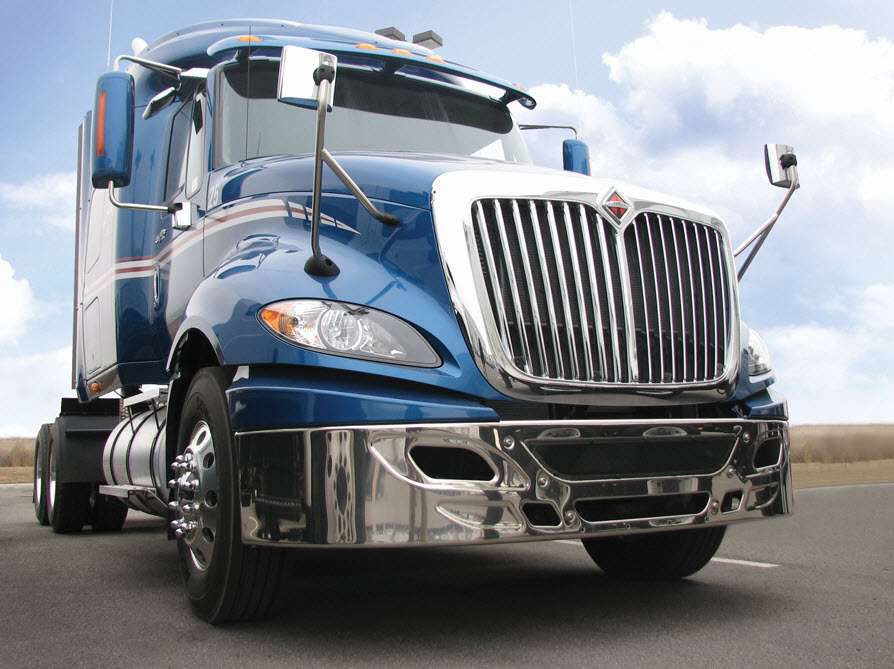 International offering seats with rollover protection as option on ProStar models