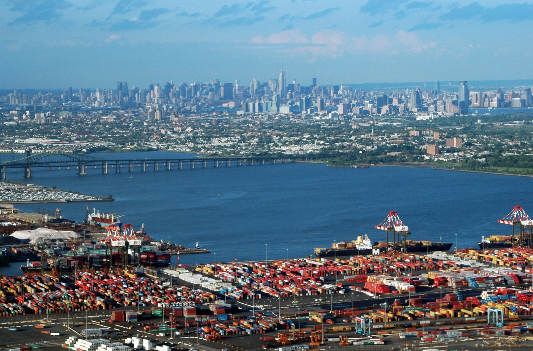 Brief longshoremen strike temporarily halted truck activity at major East Coast ports Friday