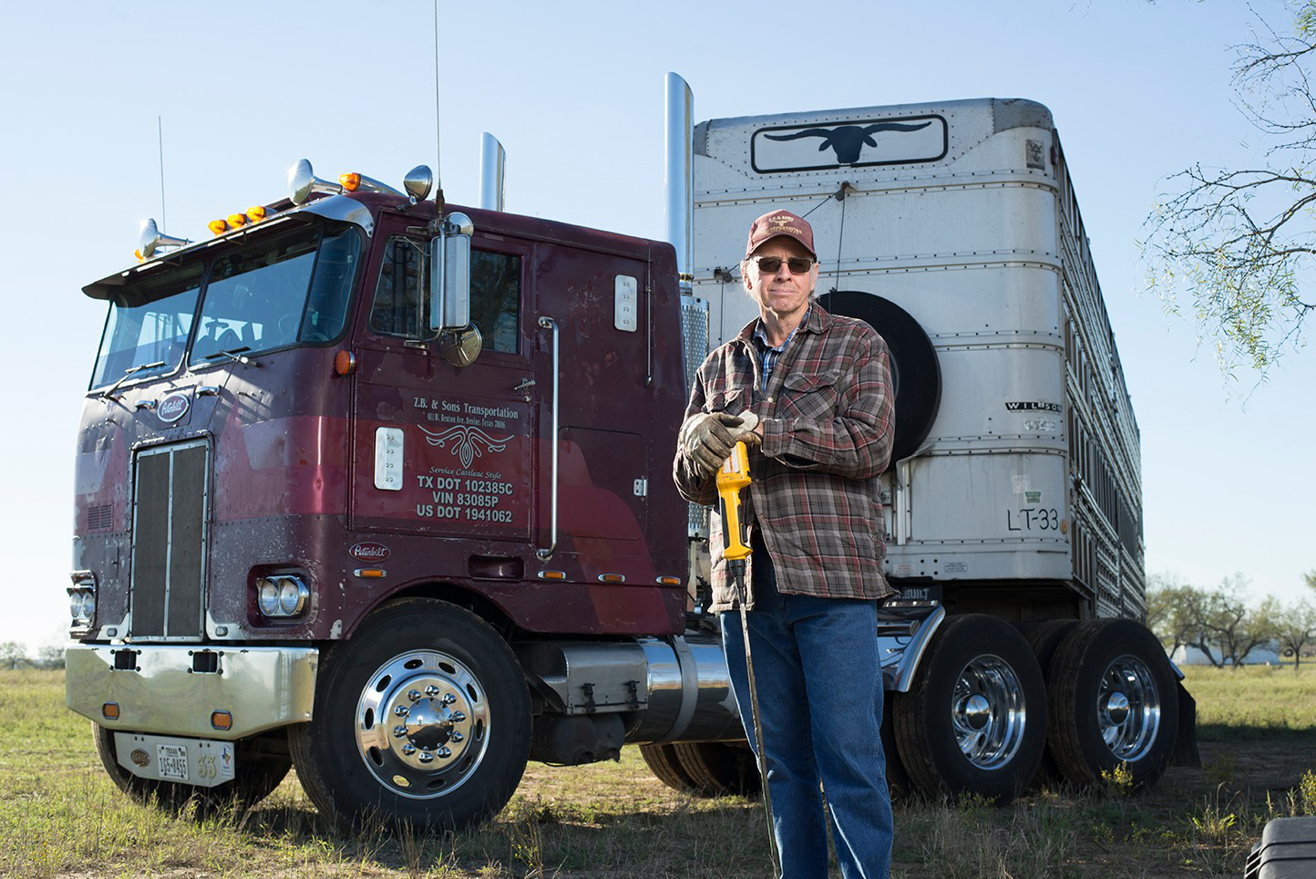 Cover shoot outtakes: Zach Beadle and his cabover Pete at ...