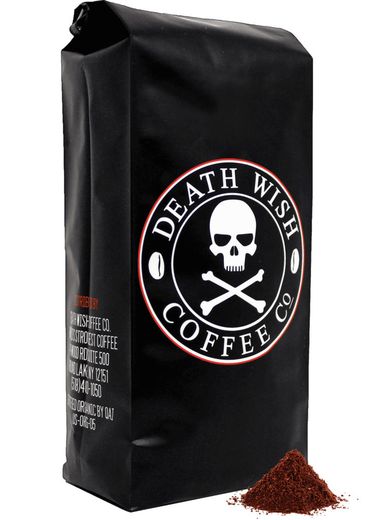Death Wish Coffee from Saratoga Springs, N.Y.