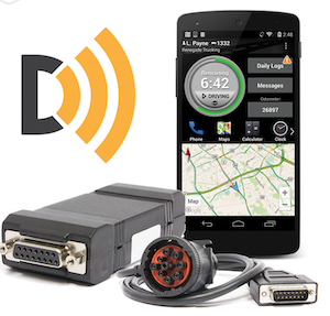 Find more information on BigRoad's DashLink AOBRD/ELD at this link. Drivers can download the basic computer-assisted log for smartphones via iOS and Android marketplaces.