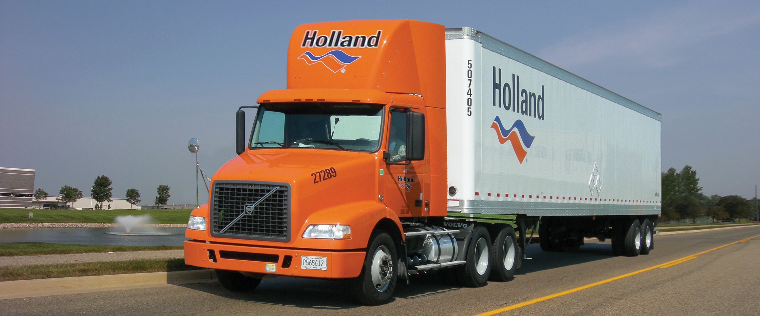 Holland purchases trailer wraps to support Trucking Moves America Forward