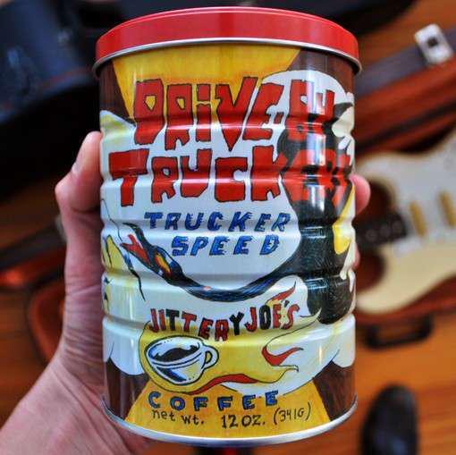 """Jittery Joe's """"Trucker Speed"""" coffee"""