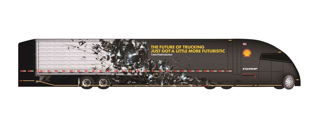 Shell wants high school, college students to design interior of StarShip concept truck