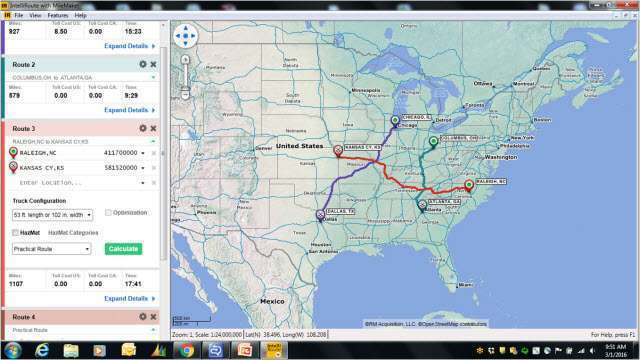 Rand McNally launches new version of routing, mapping software