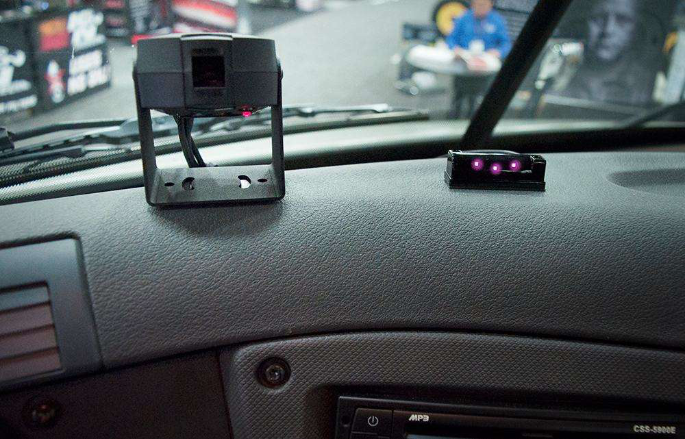 Driver-facing dashcam on display, being tested at fleets