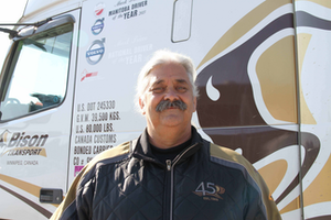 Overdrive's 2015 Owner-Operator of the Year, Mark Tricco.