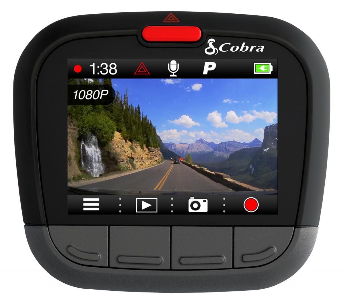 Cobra dashcam with built-in GPS debuts at MATS