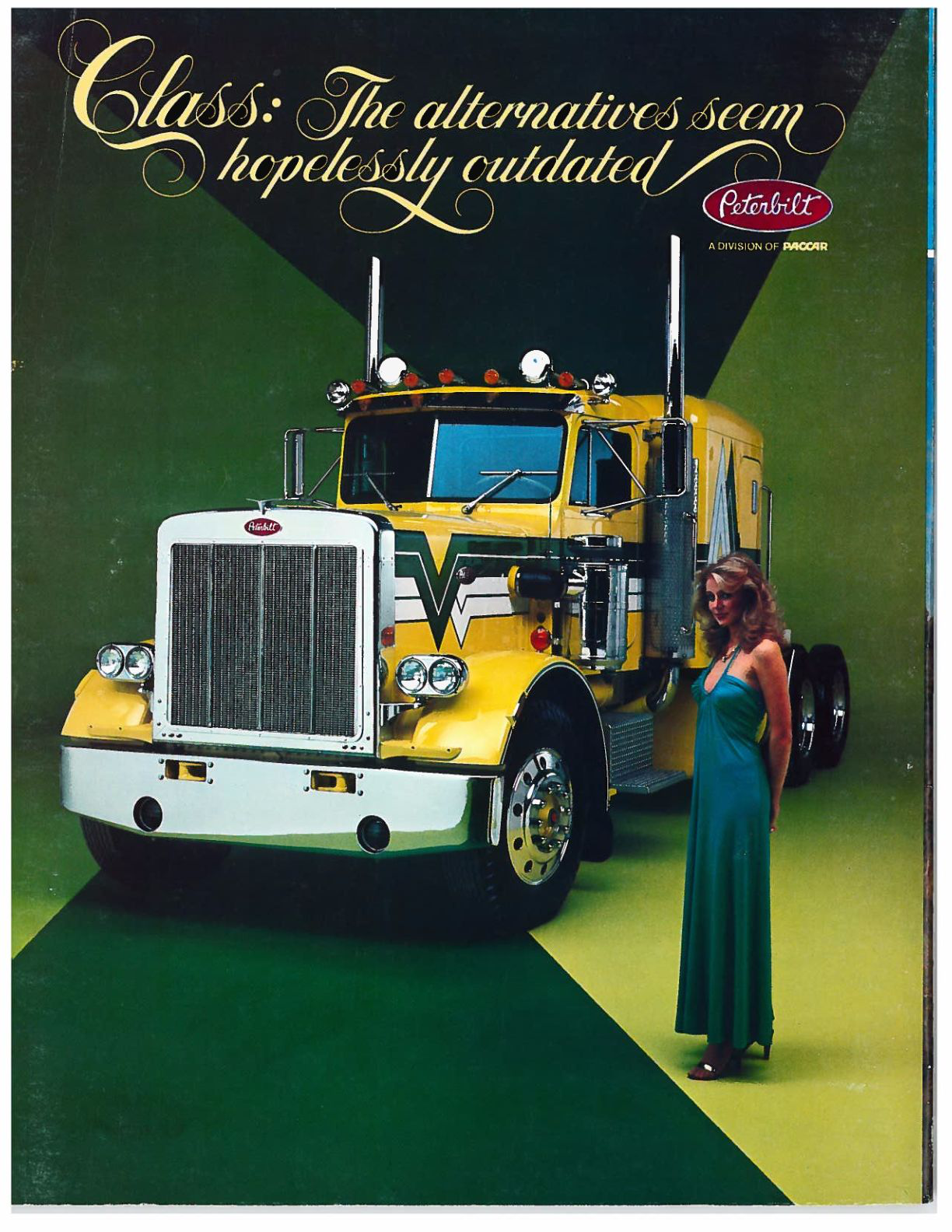 rearview  peterbilt ads through the years