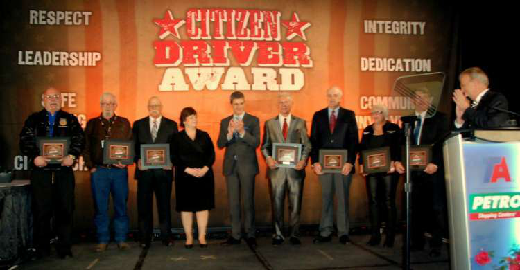 TA/Petro honors eight truckers with Citizen Driver Awards