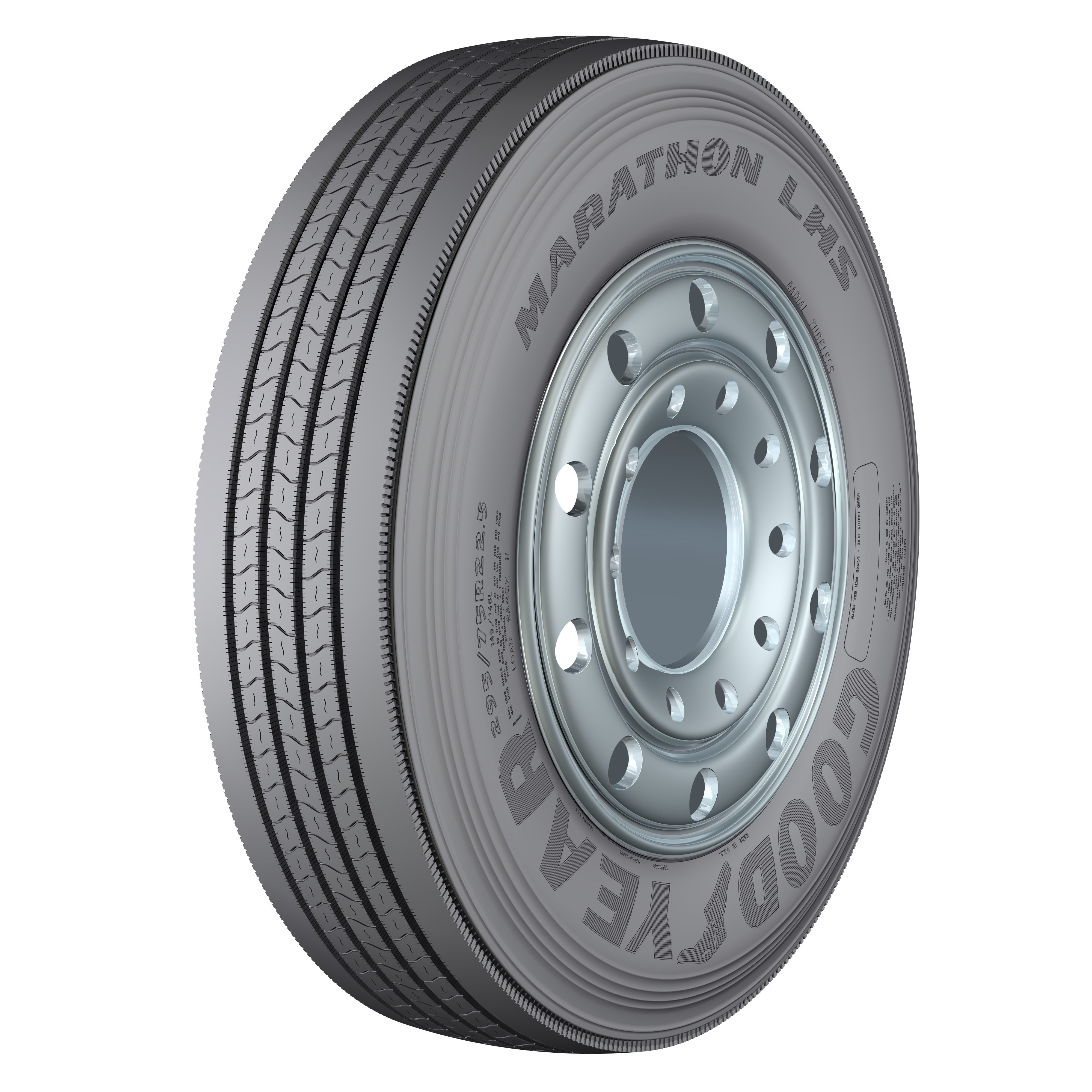 Goodyear rolls out mid-tier steer, drive, trailer tires