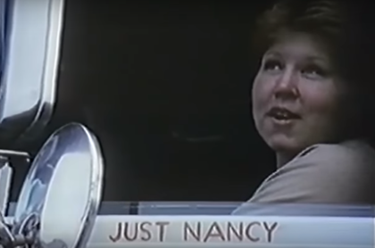 One of many drivers featured briefly in the film -- recognize yourself or someone you know? Get in touch -- I'd love to hear more about your memory of the event or the time: tdills@randallreilly.com.