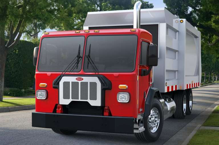 Peterbilt vocational Model 520 expands refuse lineup