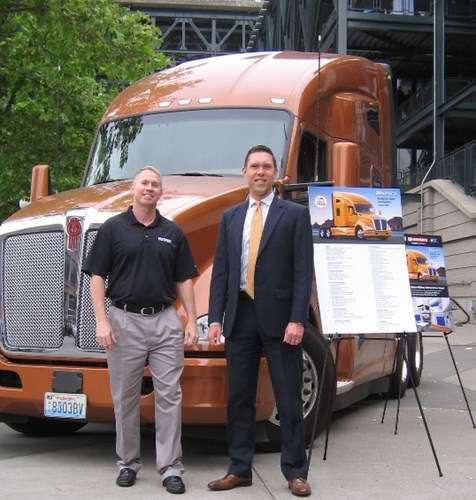 Kenworth T680 up for grabs in contest for military vet truckers