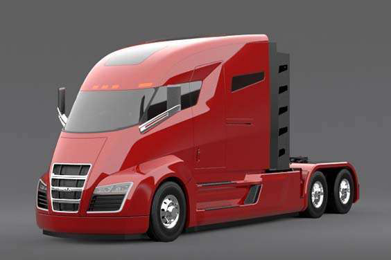 Electric truck startup co. promises no-emissions big rig