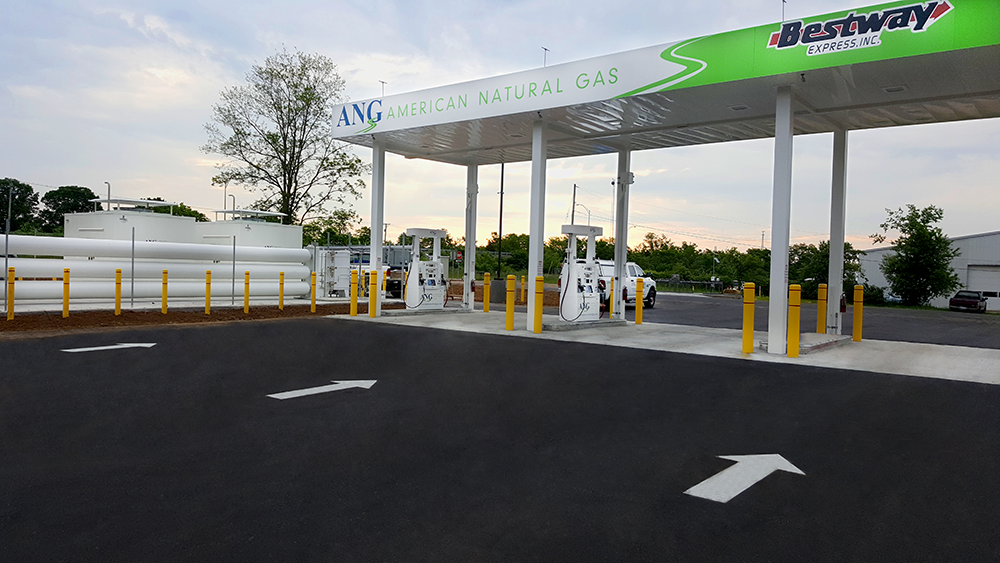 Compressed natural gas station opens in Georgetown, Ky.