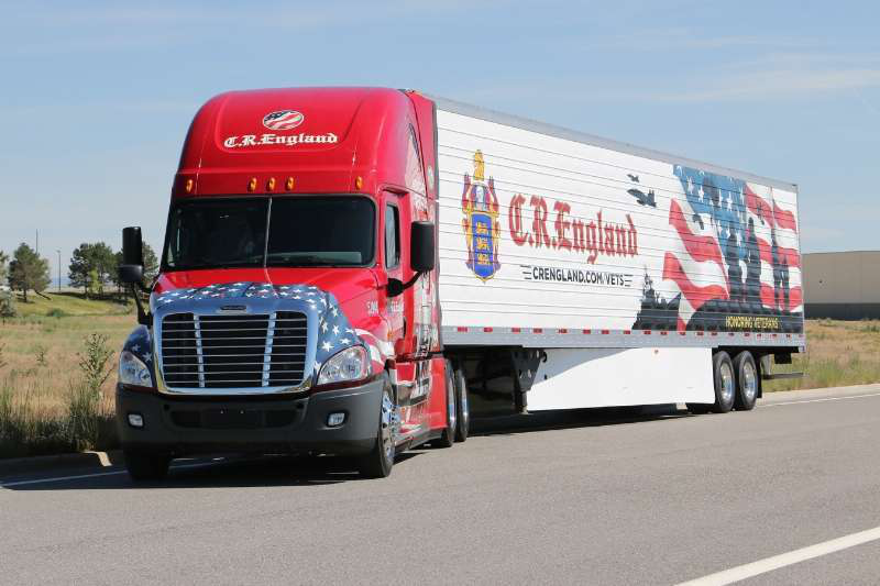 Military veterans honored by C.R. England   Overdrive - Owner ...
