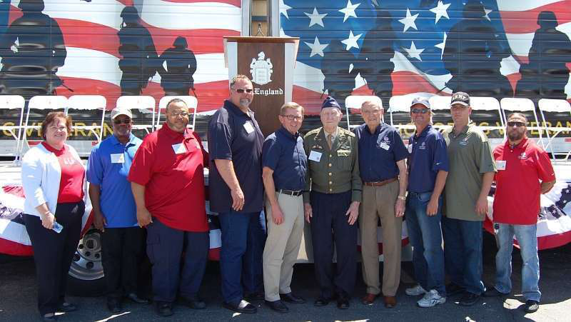 Military veterans honored by C.R. England