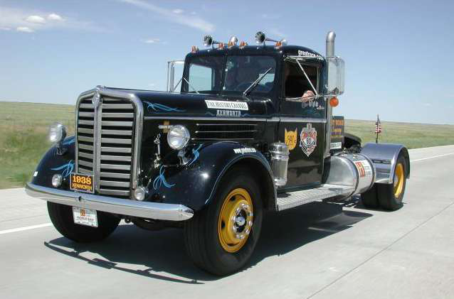 Cat Scale's 1938 Kenworth to compete in portion of cross-country race