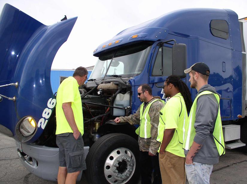 trucking school in depth training