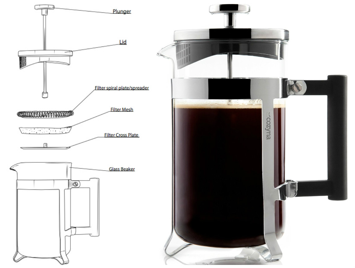 French Press Coffee Maker Assembly : The French press riders Overdrive - Owner Operators Trucking Magazine