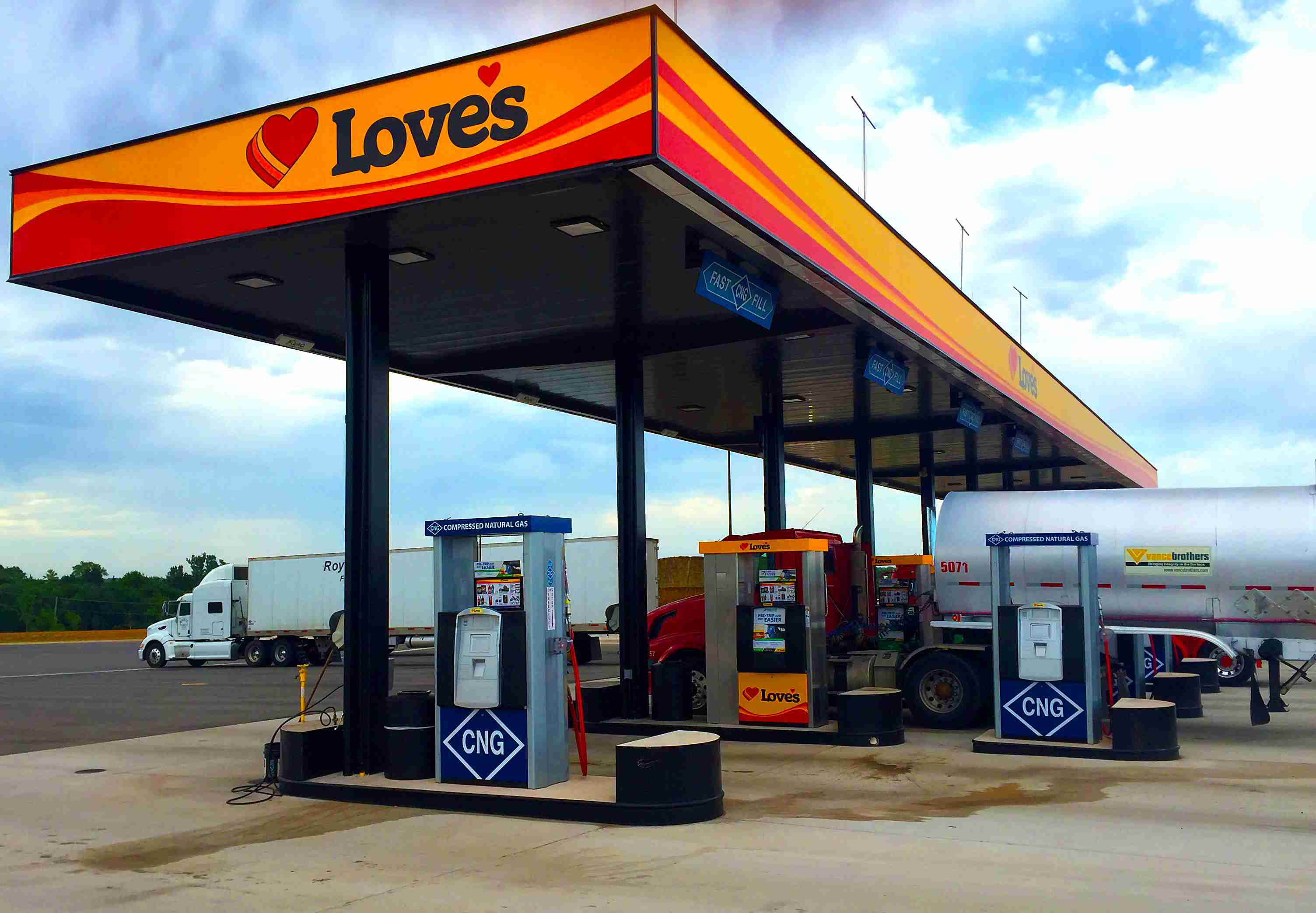 Love's adds CNG to Guthrie, Okla. location