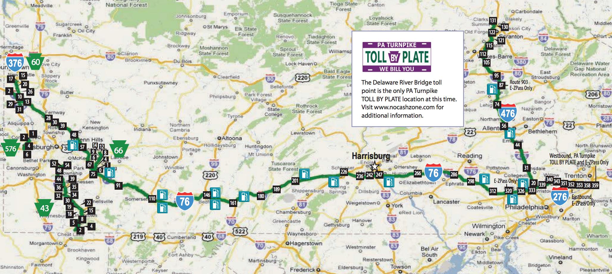 Pennsylvania Turnpike tolls increasing again in 2017