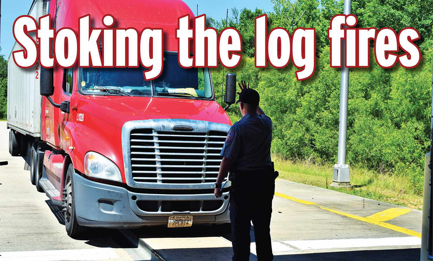 Stoking the log fires: Hours violations, fleet size and ELDs