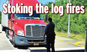 Stoking the log fires, redux: Crash incidence, hours violations and fleet size