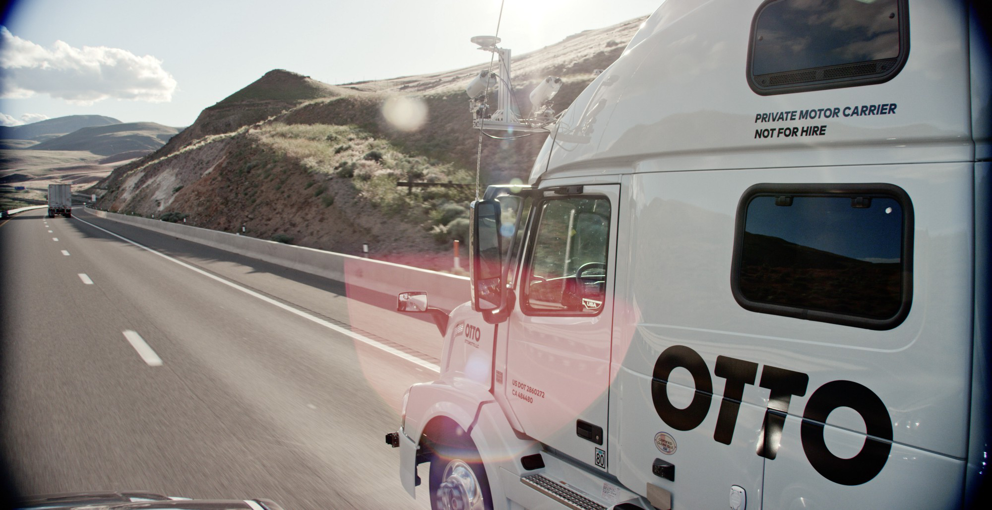 Uber enters trucking via Otto acquisition, co.'s announce plans for freight matching system
