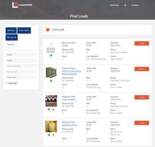 LoadExpress bringing owner-operator focused freight matching platform to spot market