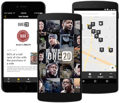 One20 launches as 'membership' for truckers for on-road discounts and more, releases trucker-focused tablet