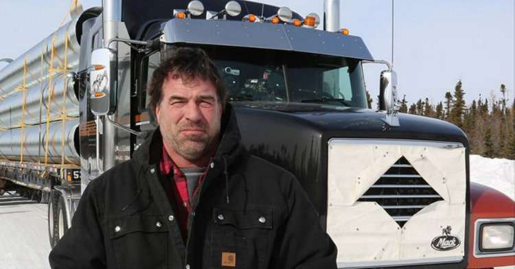 Unseasonably warm weather makes for dicey start to new 'Ice Road Truckers' season