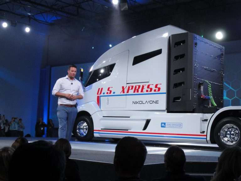 Nikola mulling per-mile pricing system for hydrogen-powered tractor, says testing to begin next fall
