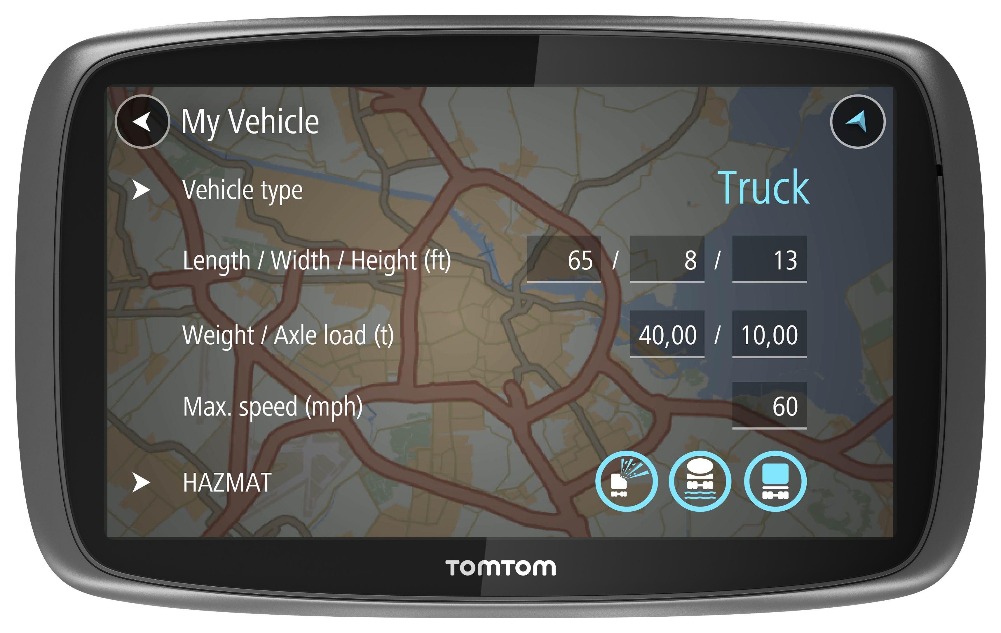 TomTom launching truckerfriendly GPS