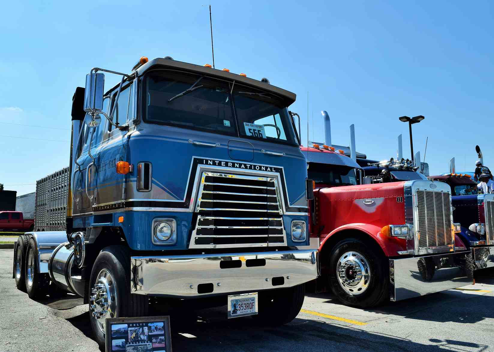 Custom International Transtar Coe Trucks 4 From All Over 1980 Ford Truck Cabover For Sale