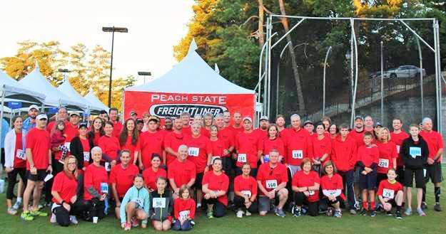 Peach State Freightliner gives big in cancer-benefit 5K